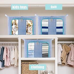 Foldable Storage Bins Boxes07
