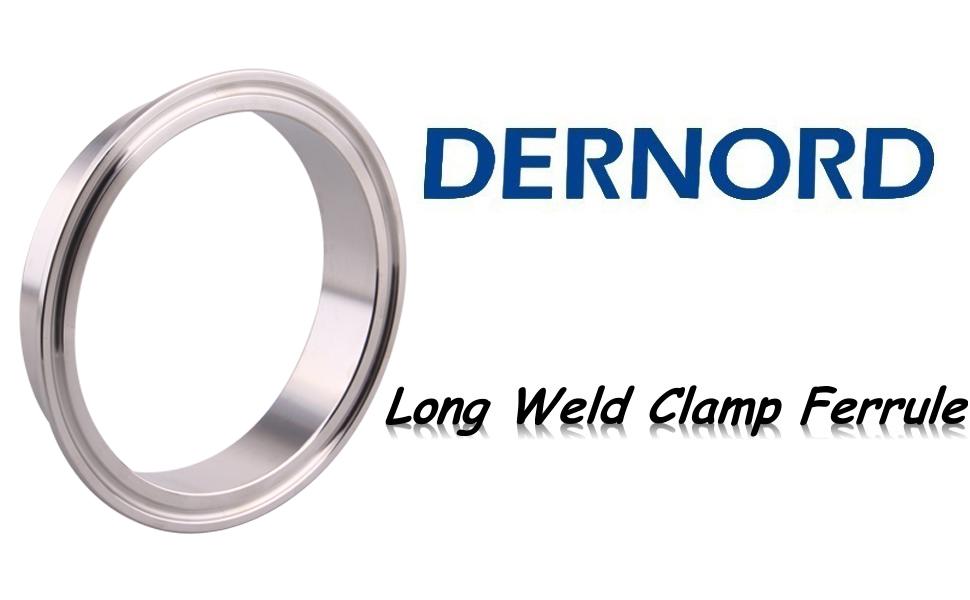 DERNORD Long Weld Clamp Ferrule