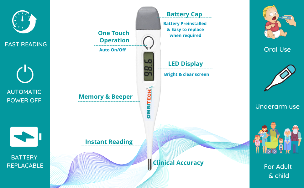 Features Thermometer