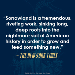 Sorrowland Rivers Solomon The New York Times quote