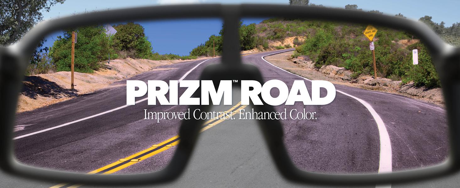 Prizm Road: Improved Contrast. Enhanced Color.