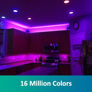 RGB recessed light