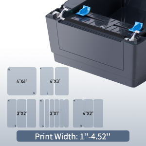 bluetooth label printer for shipping packages