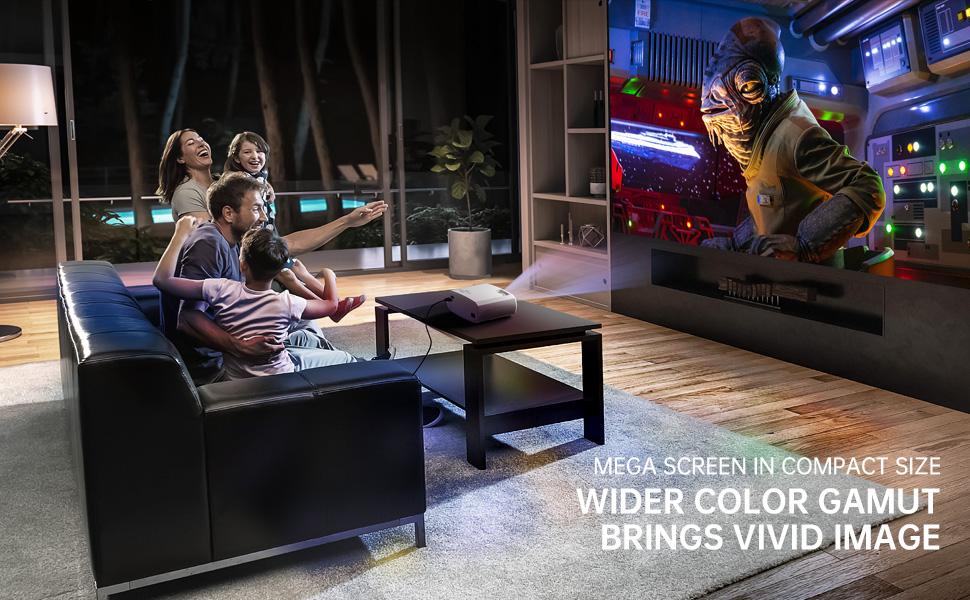 VIMGO VENUS X3 home theater projector