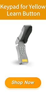 Keypad for Yellow Learn Button