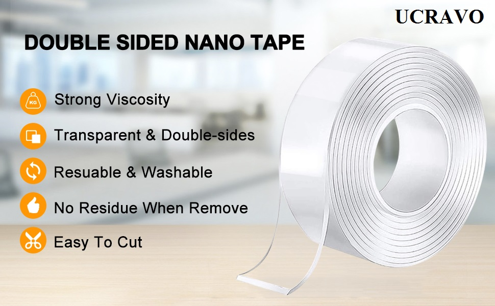 double side tape use