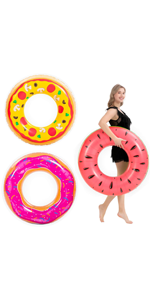 Inflatable Pool Floats (3 Pack)