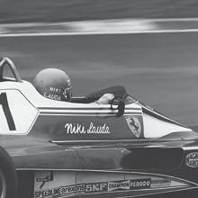 Niki Lauda racing a Ferrari in 1974.