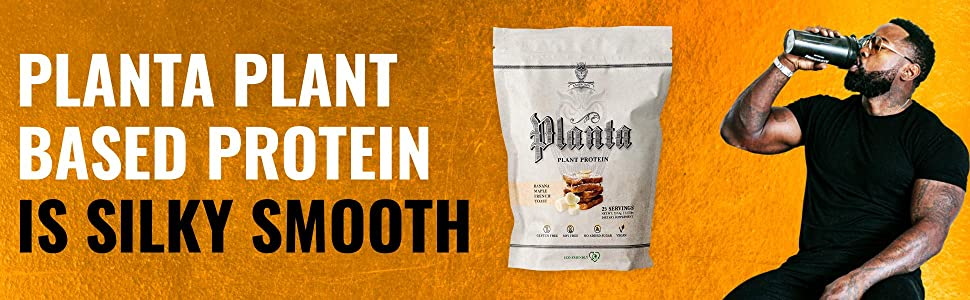 Planta plant based protein is silky smooth