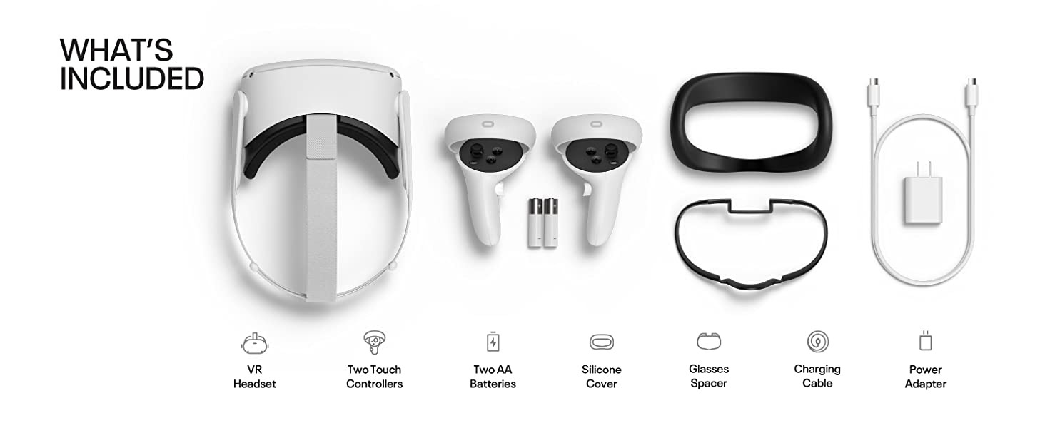 What's included, Oculus, Accessories