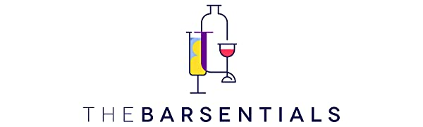 Thebarsentials logo bar supplies and accessories for home, restaurant and gifts