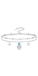 Octopus bracelet anklet for women