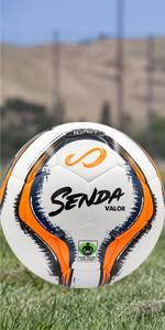 Senda Valor imposed over soccer field