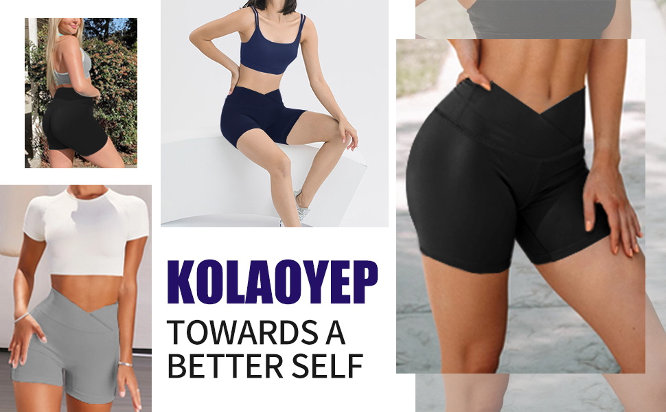 womens crossover biker shorts