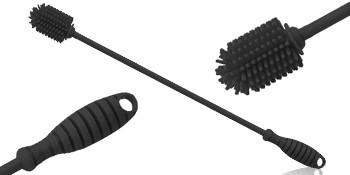 Black Silicone Bottle Brush