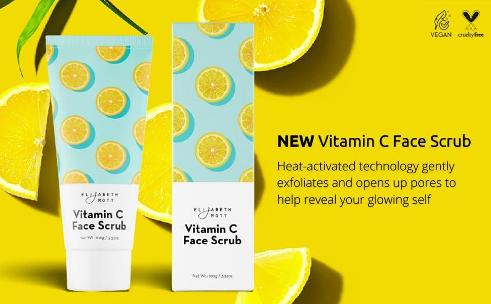 Vitamin C Face Scrub Banner