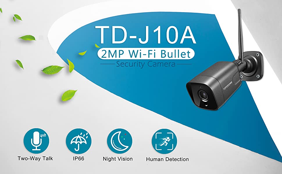 2MP Humanoid Detection Security Camera