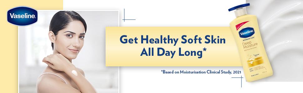 Vaseline Intensive Care Deep Moisture Body Lotion,400 ml
