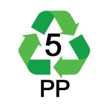 PP 5 Recycle Symbol