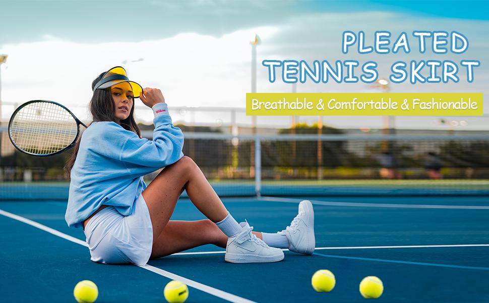 women athletic  tennis skirts