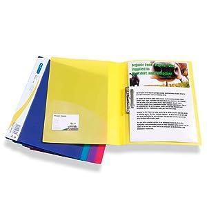 porte document blopochette presentation projet reliure dossier clamper classeur lamelle clip crampon