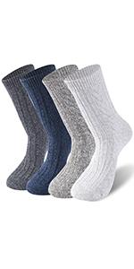 Mens Dress Socks Athletic Socks Knit Pattern Sports Socks