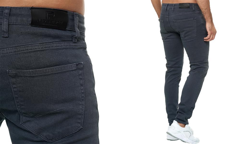 jeans uomo pantalone stretto stretch elasticizzato nero bianco verde beige blu marrone slim fit