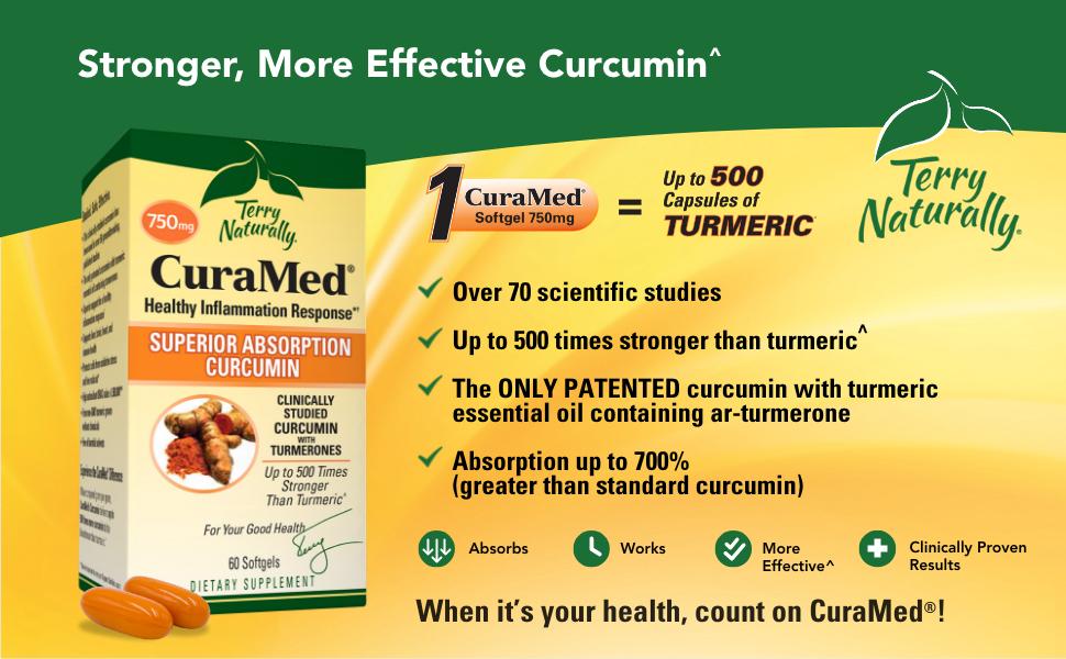 CuraMed - Stronger, more effective curcumin