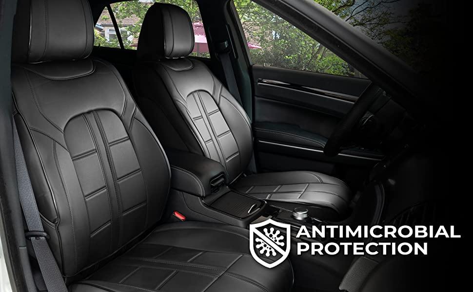 1370048 3D Adventurer Seat Cover Black Antimicrobial