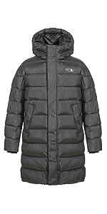 TIGER FORCE Winter puffer coat long jacket