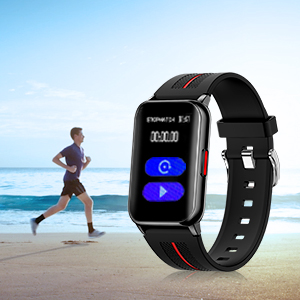 smart watch with stopwatch