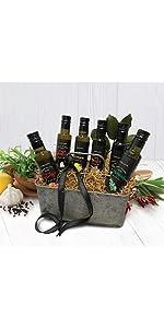 Vervana flavored olive oil gift set of all 6 Vervana crushed flavored olive oils