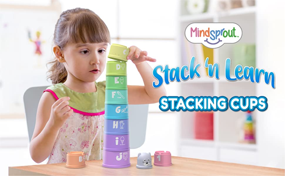 Stacking Cups Banner