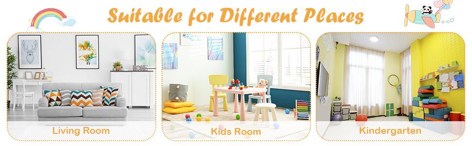 child sofa for kids room, kindergarten, living room