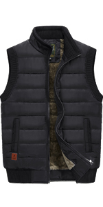 Menamp;#39;s Casual Outdoor Padded Vest