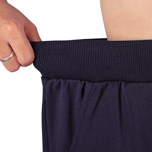 Width elastic bottom joggers