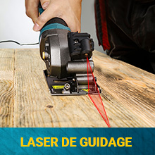 mini scie circulaire laser guidage