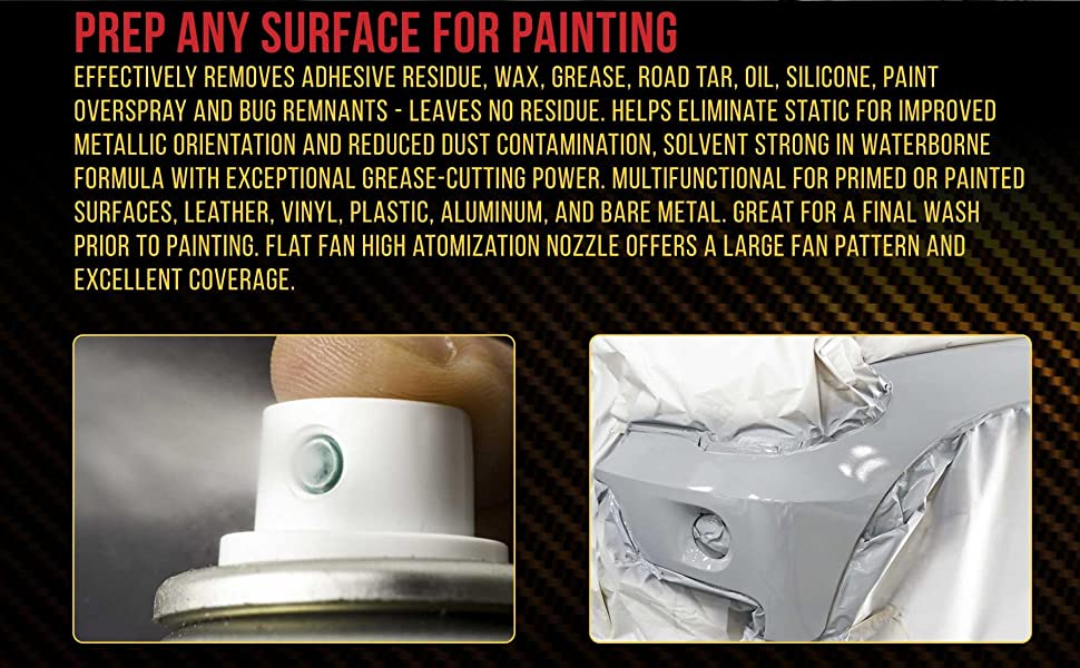 Custom Shop Panel Preparation Spray Surface Cleaner