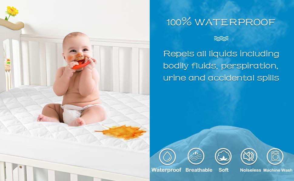 100% waterproof