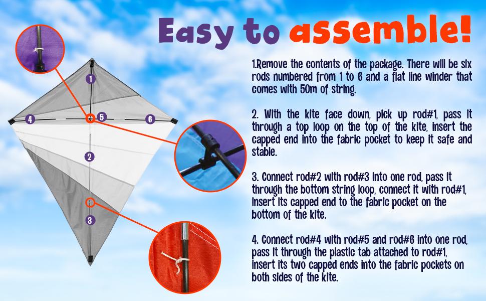 easy fly kite