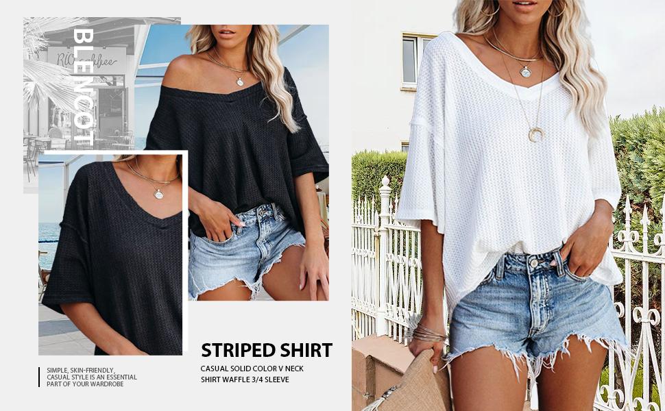 short sleeve knit tops