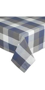 Tri Color Tablecloth