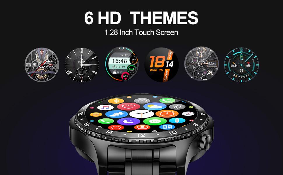 Smart watch 1.28 inch touch screen