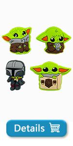 Baby Yoda Charms