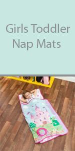 girls toddler nap mat