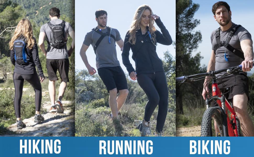 Hydration Pack For Hiking Running Biking