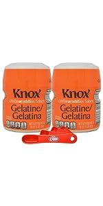 knox gelatine box comparison 2 finish
