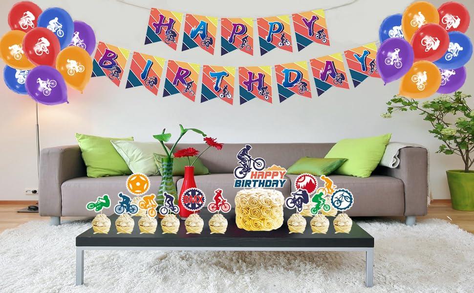 Bike Birthday Party Decorations