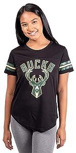 Ultra Game NBA Women's Soft Mesh Jersey T-Shirt