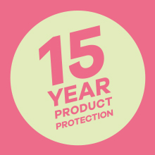 15 year product protection